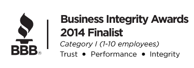 AA Advantage Doors BBB integrity awards finalist