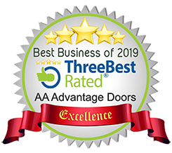 AA Advantage Doors Three Best Rated Best Business of 2019
