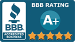 AA Advantage Doors Accredited by the Better Business Bureau