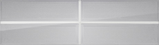 Hampton long panel garage door window designer lites